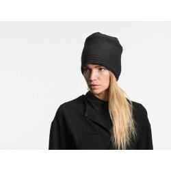 Pleated fleece hat