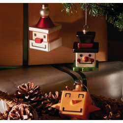 Cubed Christmas Ornaments
