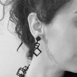 Earrings Cubetti